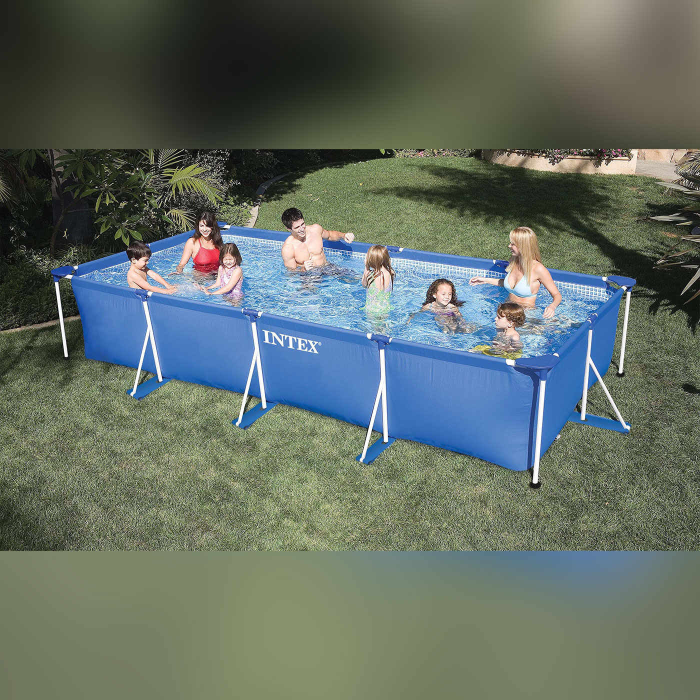 Piscina Rectangular Frame 450