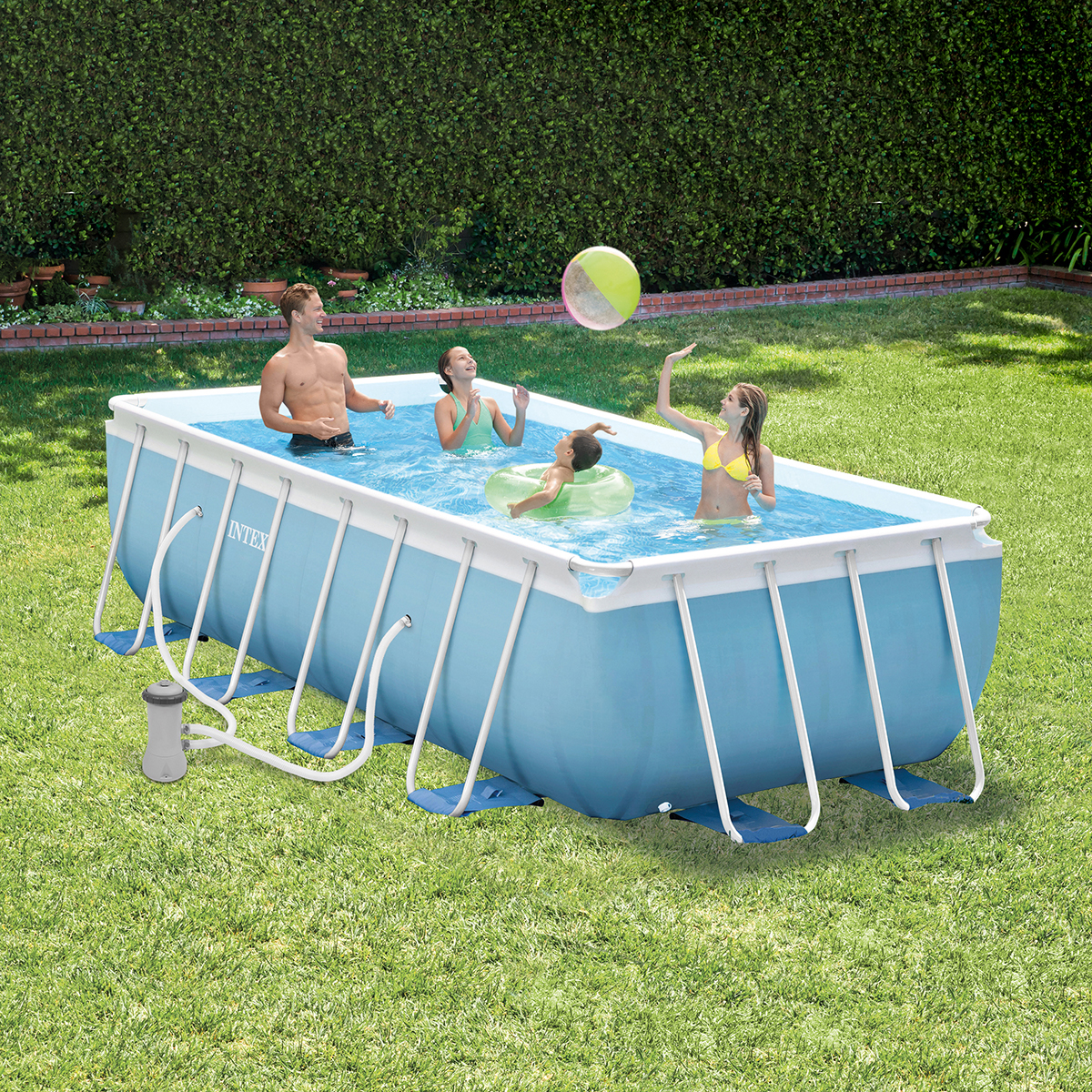 INTEX 28318NP | Piscina Prism Frame 488